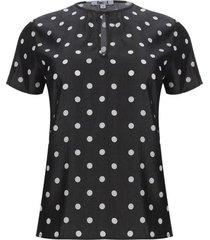 blusa cierre lagrima color blanco, talla 10
