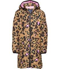 k. quilted hood coat gevoerd jack bruin svea
