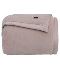 cobertor queen size blanket 700 rose parisi - kacyumara