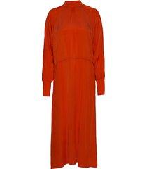 paulineiw dress maxiklänning festklänning orange inwear