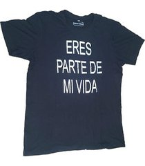camiseta para hombre negro