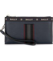 bally beryer phone wallet - blue