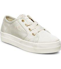 leisha low lace shoes låga sneakers creme gant