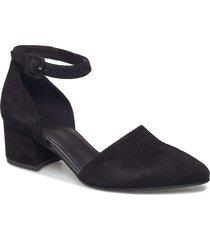 mya shoes heels pumps classic svart vagabond