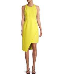 toccin women's sarong racer dress - jet - size 6