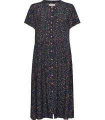 aliya dress jurk knielengte zwart lollys laundry