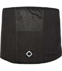 ma. strum neck warmer with logo