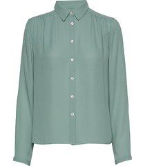 marielle top blouse lange mouwen groen filippa k