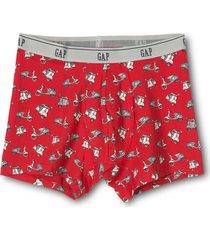 boxer brief print hombre rojo gap