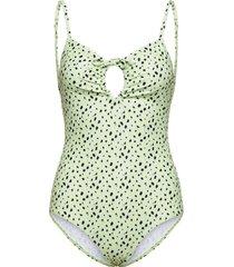 honolulu swimwear baddräkt badkläder grön twist & tango