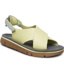 oruga sandal shoes summer shoes flat sandals grön camper