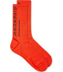 split logo socks