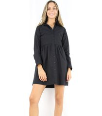 blusa camisera alana negra jacinta tienda