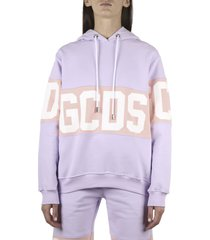 gcds band logo hoodie sweatshirt