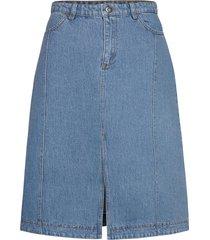 sadie knälång kjol blå baum und pferdgarten