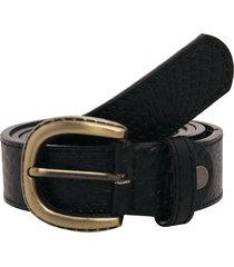 cinturón cuero textura negro lorena herrera