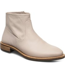 sartorelle 25 tailored shoes boots ankle boots ankle boot - flat beige ecco