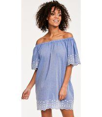 daisy off the shoulder dress
