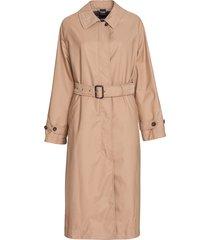 aspesi distressed finish trench coat