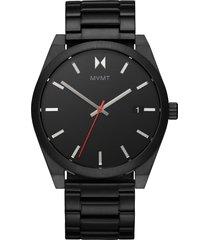 mvmt element bracelet watch, 43mm