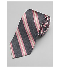 reserve collection ribbed stripe tie - long