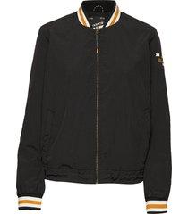 lightweight sportive jacket bomberjacka svart scotch & soda