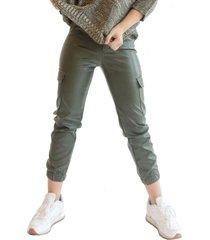 pantalon cargo verde militar racaventura