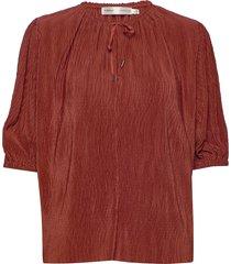 karloiw blouse blouses short-sleeved rood inwear
