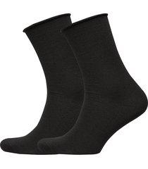 jbs of dk socks wool 2-pack lingerie socks regular socks svart jbs of denmark