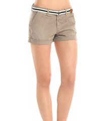 korte broek guess - trouser short - ecru