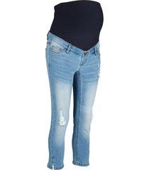 jeans prémaman cropped (blu) - bpc bonprix collection