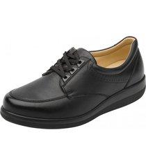 zapato ultra cómodo fanny bajo color negro flexi
