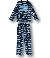 pijama marisol azul - kanui