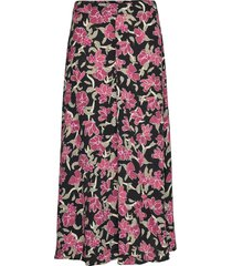 alda maxi skirt lång kjol rosa just female
