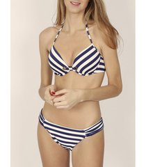 bikini admas 2-delige push-up bikiniset sailor