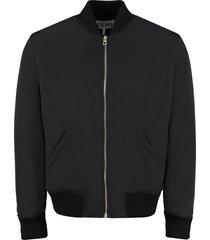 loewe padded bomber jacket