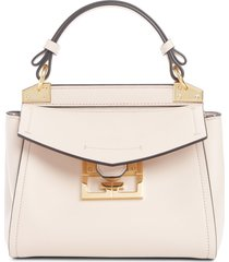 givenchy mini mystic calfskin leather satchel - pink
