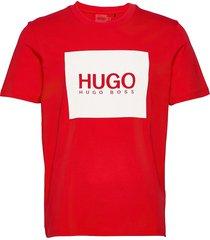 dolive_u212 t-shirts short-sleeved röd hugo