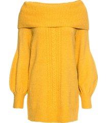 maglione con collo a ciambella (giallo) - bodyflirt