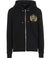 badge hoodie