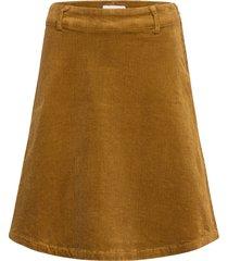 numeghan skirt knälång kjol gul nümph