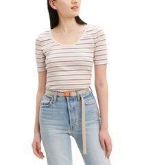 levi's venice striped stretch t-shirt