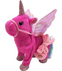 unicorn correa flying horse figurilla caminará a cantar caballo dragón