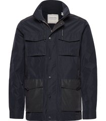 4 pocket military jacket tunn jacka blå scotch & soda