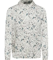 broom crete shirt långärmad skjorta vit bruuns bazaar