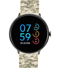 itouch men's sport camo silicone strap touchscreen smart watch 43.2mm