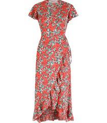 ambika jurk rood lexie
