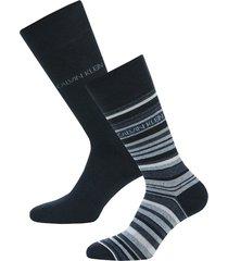 mens barcode stripe 2 pack socks