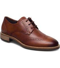 sartorelle 25 tailored snörade skor låga brun ecco