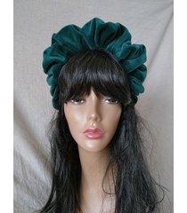 opaska marszczona headband royal scrunchie